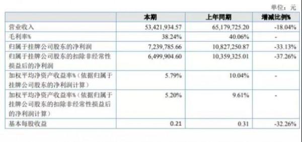2020年上半年精英动漫财报:净利723.98万下滑33%