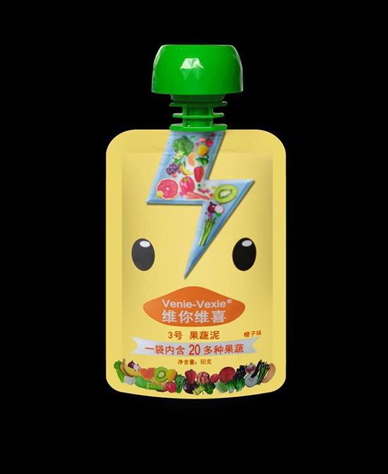 维你维喜果蔬泥系列 20余种蔬菜水果组成·为儿童补充维生素和膳食纤维