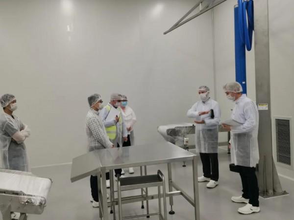 纽贝滋爱尔兰工厂获农业部点赞!全球化战略稳步推进