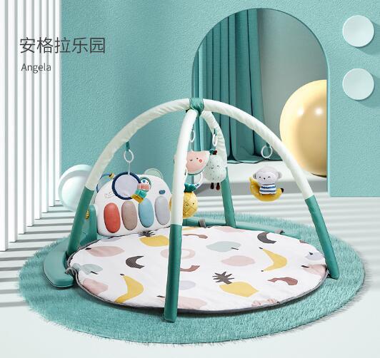 可优比婴儿健身架器脚踏钢琴    早教与锻炼融合·全面刺激宝宝感官发育