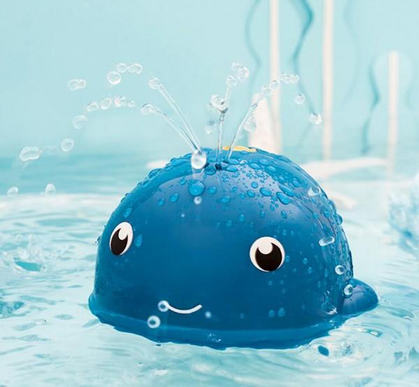 秋冬季宝宝不爱洗澡怎么办  gb好孩子鲸鱼宝宝洗澡玩具来帮你