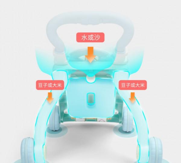 优乐恩宝宝多功能防侧翻学步车   解放妈妈的时间自行学步