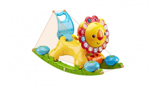 费雪4合1多功能学步车   花式学步·让宝宝从坐玩到走