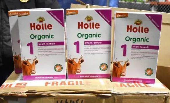 重磅:美国海关查处近600箱欧洲产奶粉