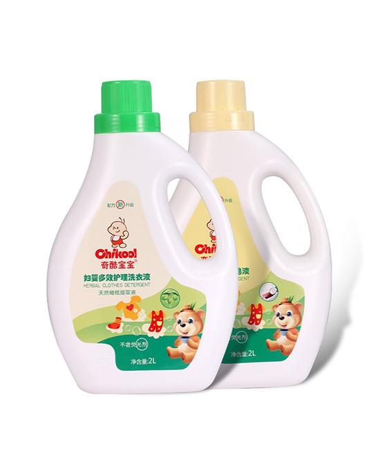 奇酷宝宝洗衣液 植萃抑菌 洁净护衣 值得经销商信赖的孕婴洗护品牌