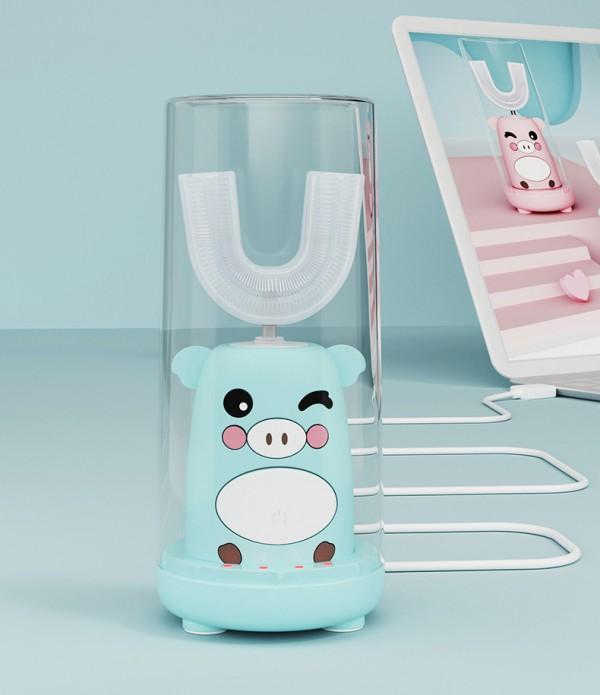安欧儿童U形电动牙刷    趣味洁牙启萌刷·让宝宝爱上刷牙
