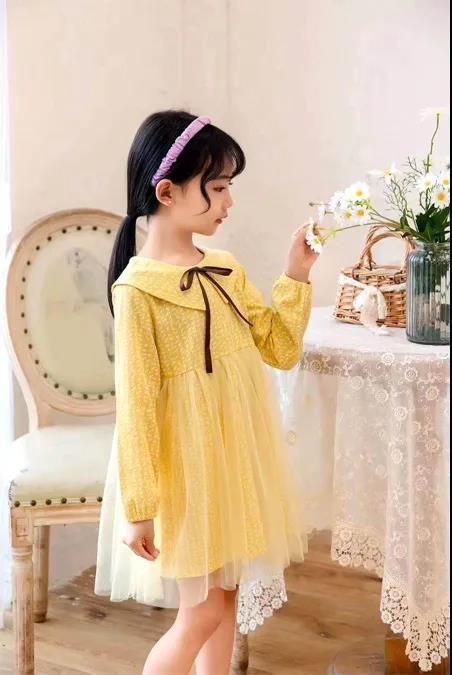 文藝淑女的童裝連衣裙 讓這個春末夏初更加美麗動人