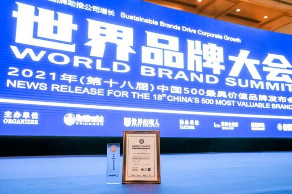 """中國500最具有價值品牌""""榜單發布,中國飛鶴位次再度提升"""