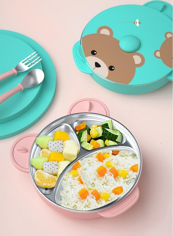 寶寶用保溫碗吃飯好嗎  albo愛樂寶兒童吸盤保溫碗安全嗎