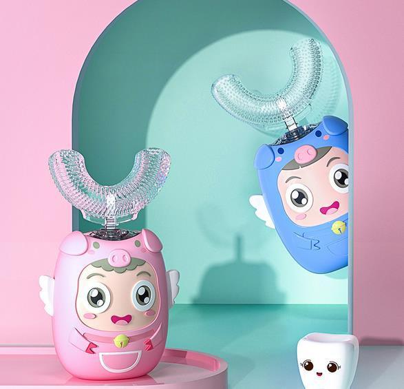 電動U型牙刷刷牙好不好 深愛兒童電動U型牙刷好用嗎