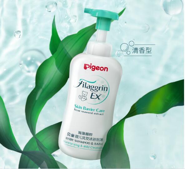 寶寶的沐浴露怎么選擇好 Pigeon貝親海藻精粹洗發沐浴二合一怎么樣