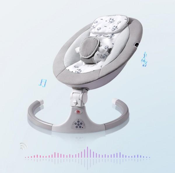 寶寶用搖床好嗎  愛貝迪拉嬰兒電動搖籃安全嗎
