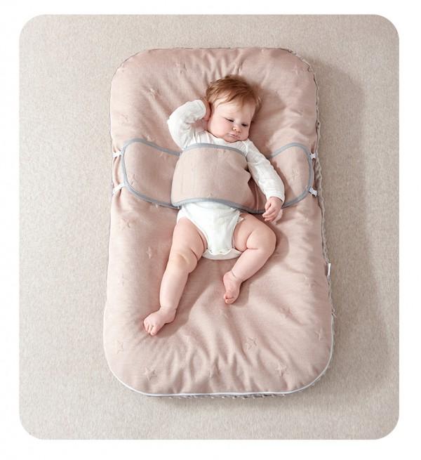 嬰兒床中床如何選  bnsn伴心嬰兒乳膠床中床安全嗎