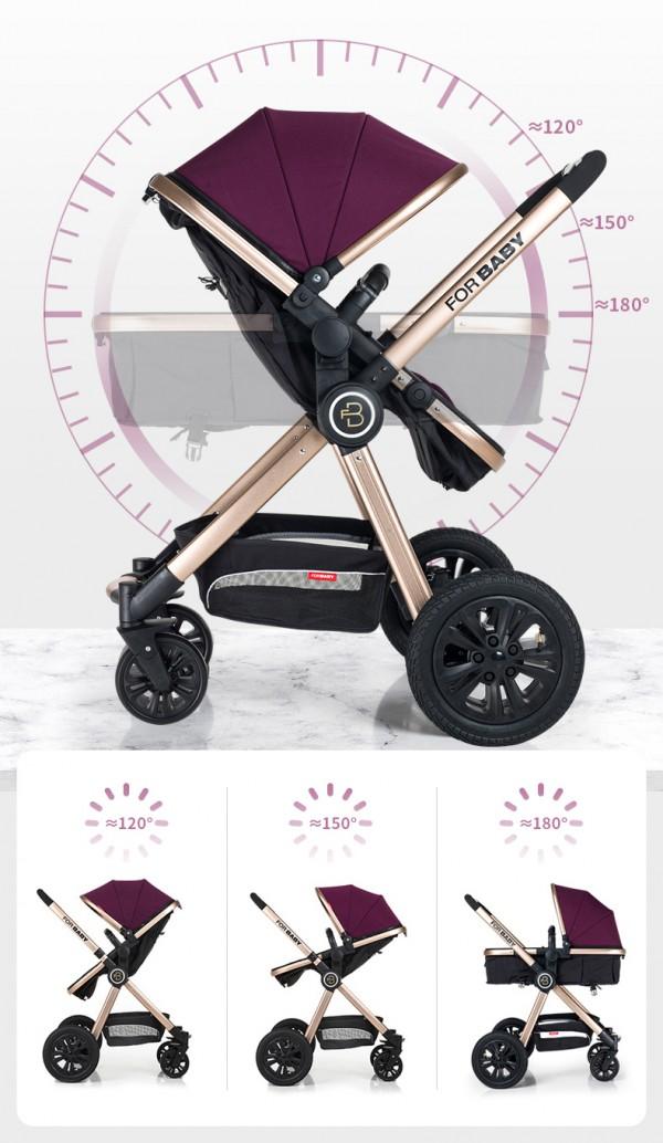 嬰兒推車買哪種品牌好  嬰兒推車推薦-FORBABY雙向嬰兒手推車