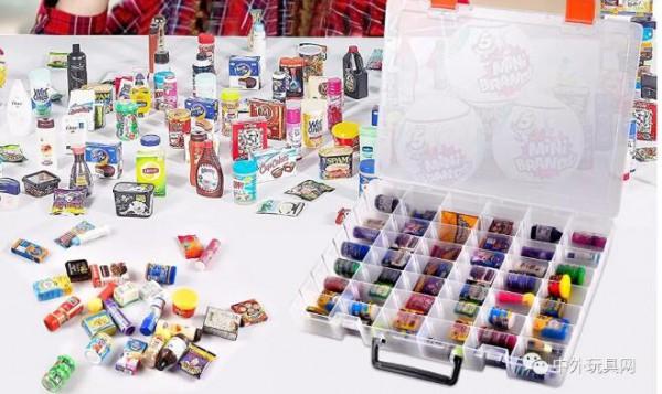 Zuru的Mini Brands(迷你品牌)系列玩具 成為TikTok流行玩具