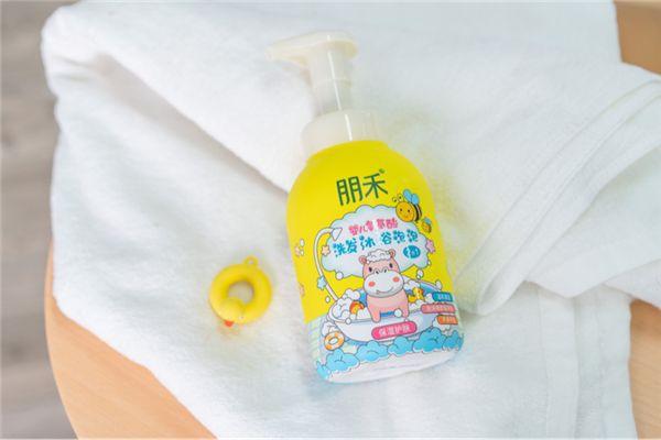 夏季寶寶洗澡用這款-朋禾氨基酸洗發沐浴泡泡 萌趣泡泡弱酸親膚又好玩