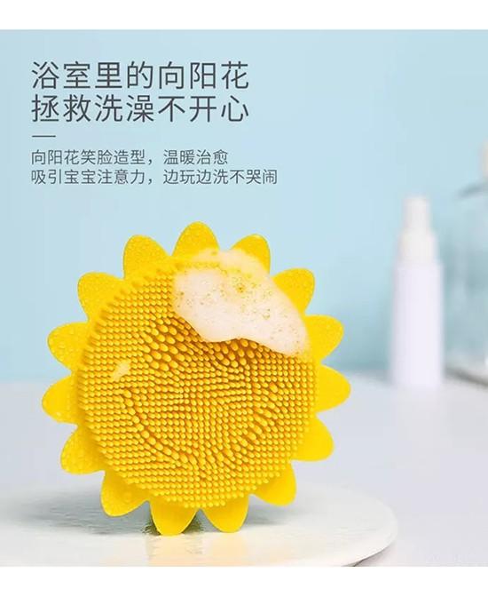 給寶寶用硅膠洗頭刷好嗎 mengbao盟寶嬰兒硅膠洗頭洗澡刷怎么樣