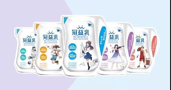 蒙牛推出冠益乳愛克林學生奶風味發酵乳 為新生代學生成長護航