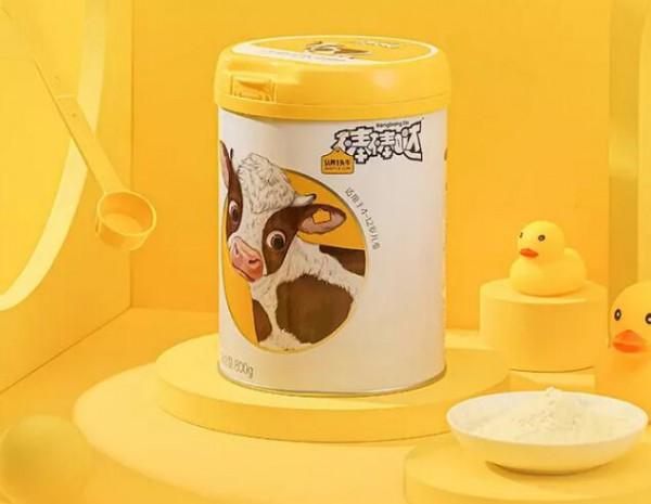 認養一頭牛推出兒童奶粉  4-12歲兒童喝的奶粉