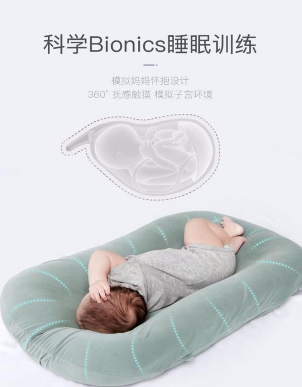 為什么大家都喜歡嬰兒床中床 愛孕新生兒仿生床中床好用嗎