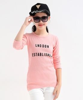 中大童长袖T恤