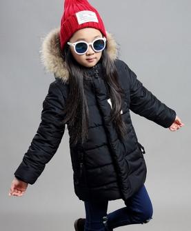 冬装棉衣款中大儿童棉服