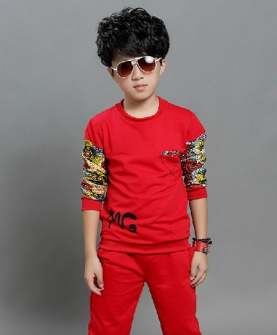 儿童秋款运动服