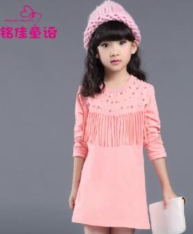 儿童女装长袖韩版上衣