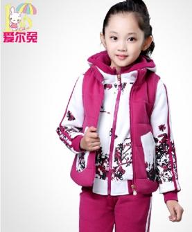 儿童卫衣三件套
