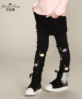 儿童公主长裤