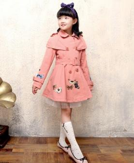 女童风衣秋装外套