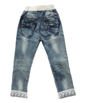 韩版女童牛仔裤