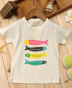 儿童韩版短袖t恤