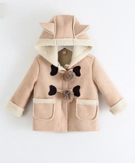 新款纯色风衣外套