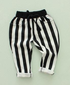 条纹休闲儿童秋季长裤