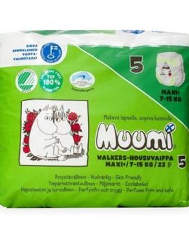 Muumi姆明一族成长纸尿裤5号