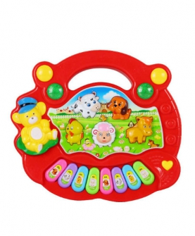 益智玩具动物电子琴