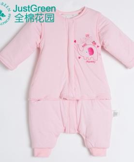 秋冬婴儿夹棉睡袋
