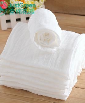 全棉婴儿纱布尿布