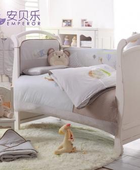 婴儿床上用品套件全棉
