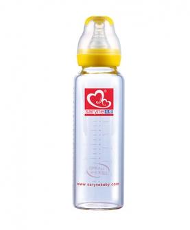 标口晶钻玻璃奶瓶