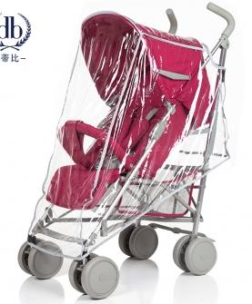 婴儿车透明雨罩