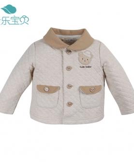 天然彩棉宝宝上衣