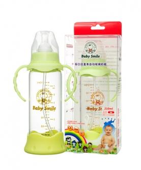 标准口径直身自动玻璃奶瓶