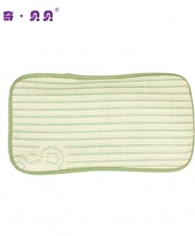 婴儿推车通用凉枕亚麻枕头