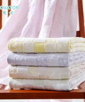 儿童超薄不变形纱布浴巾