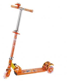 闪光管滑板车