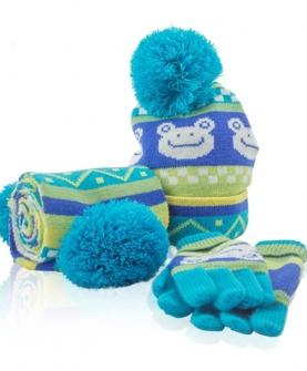 儿童帽子围巾手套