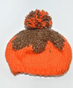 毛线手工针织套头帽子