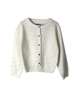 混纺针织开衫